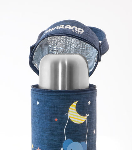 Lunchbox Borsa Termica Denim 500 ml | MINILAND | RocketBaby.it