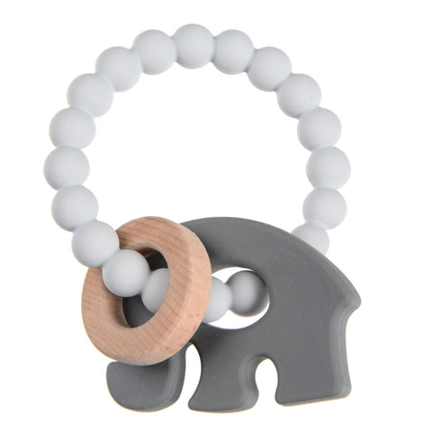 Massaggiagengive Brooklyn Light Grey | CHEWBEADS | RocketBaby.it