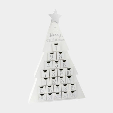 Calendario Avvento Abete Bianco | LEGLER | RocketBaby.it