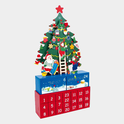 Calendario Avvento Abete Addobbato | LEGLER | RocketBaby.it