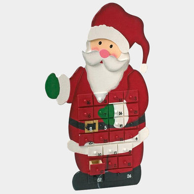 Calendario Dell'Avvento Babbo Natale | LEGLER | RocketBaby.it