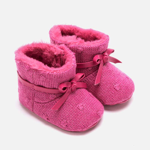 Stivali Bassi Soft Sole Tricot Lampone | MAYORAL | RocketBaby.it