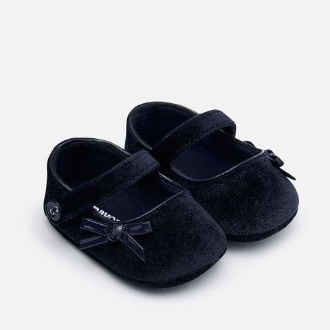 Scarpe In Velluto Soft Sole Blu Scuro | MAYORAL | RocketBaby.it