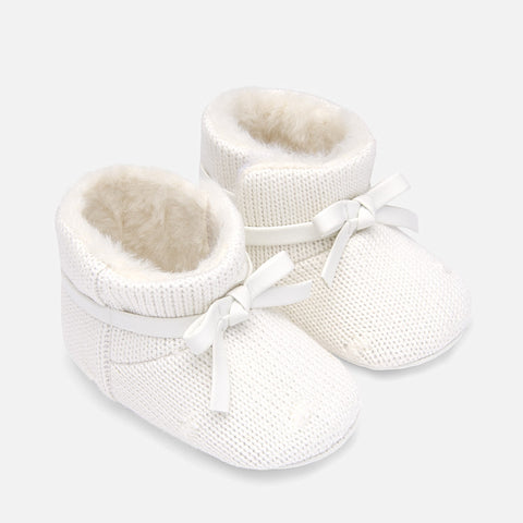 Stivali Bassi Soft Sole Tricot Panna | MAYORAL | RocketBaby.it