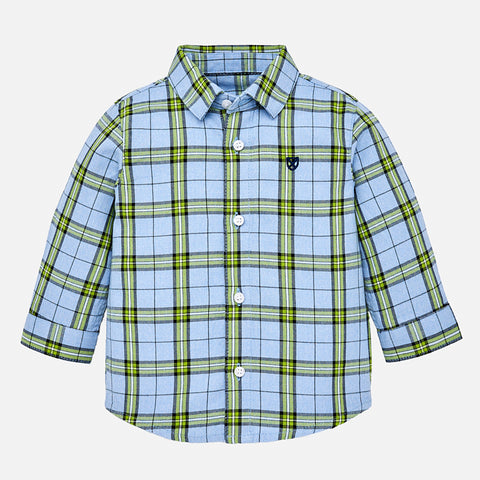 Camicia a Maniche Lunghe Quadri Kale | MAYORAL | RocketBaby.it