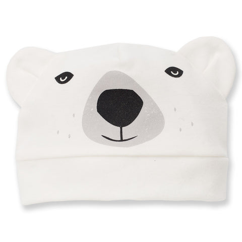 Cappellino North Orso Ecru | PINOKIO | RocketBaby.it