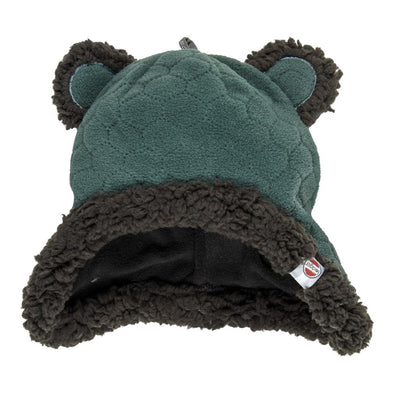 Cappello in Pile con Orecchie Botanimal Sage | LODGER | RocketBaby.it