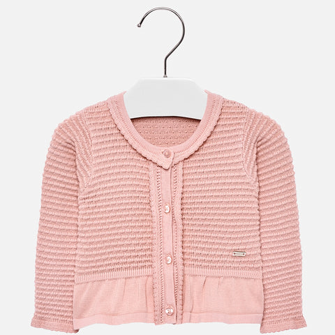 Cardigan Tricot Rosa | MAYORAL | RocketBaby.it