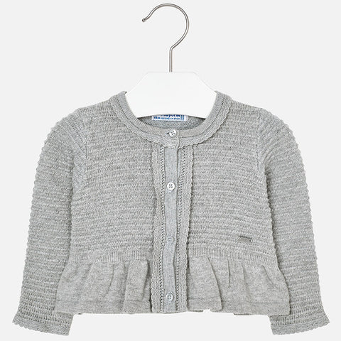 Cardigan Tricot Argento | MAYORAL | RocketBaby.it