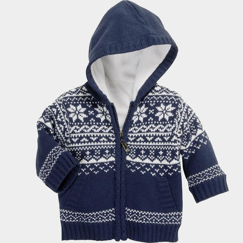Giubbotto Cardigan Imbottito Norwegian Navy | PLAYSHOES | RocketBaby.it