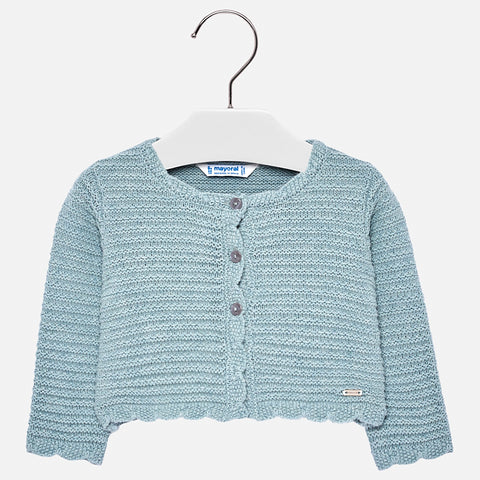 Cardigan a Maglia Giada | MAYORAL | RocketBaby.it