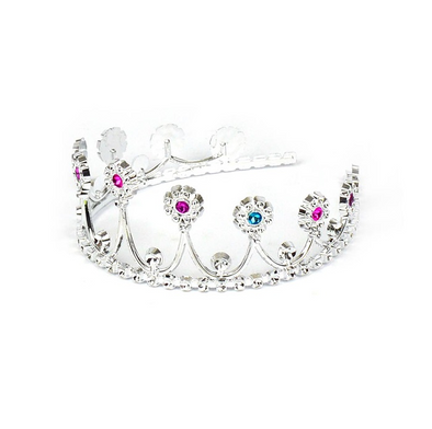 Tiara Da Principessa Royal Silver | DENGODAFEN | RocketBaby.it