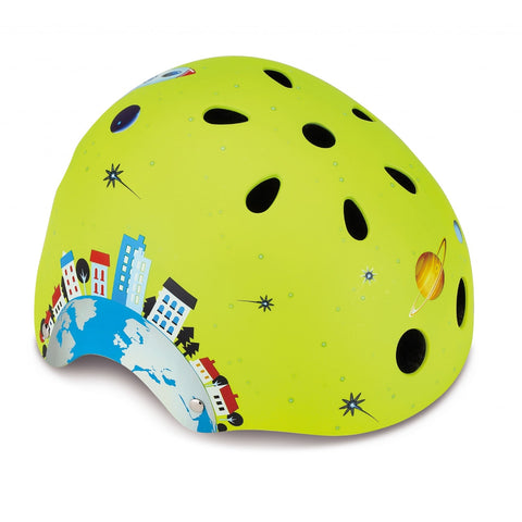 Caschetto Protettivo Rocket Lime Green XS (51-54 cm) | GLOBBER | RocketBaby.it
