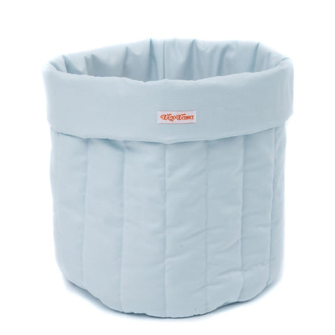 Cesto Portagiochi Plain Blue | WIGIWAMA | RocketBaby.it