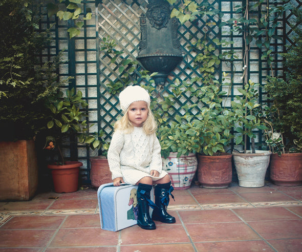 Stivali in Gomma Campera Charol Navy | IGOR SHOES | RocketBaby.it