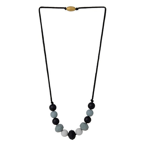 Collana da Mordere Chelsea - Black | CHEWBEADS | RocketBaby.it