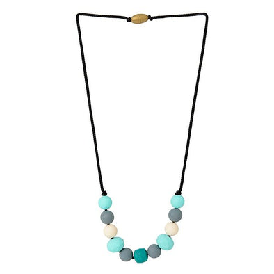 Collana da Mordere Chelsea - Multi Turquoise | CHEWBEADS | RocketBaby.it