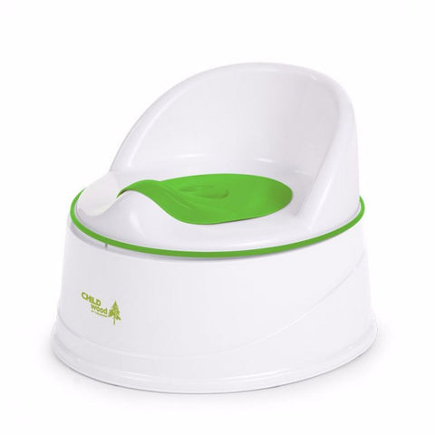 Vasino Evolutivo Bianco e Verde | CHILDHOME | RocketBaby.it