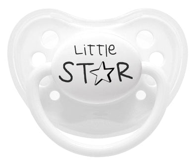 Ciuccio Little Star White | LITTLEMICO | RocketBaby.it