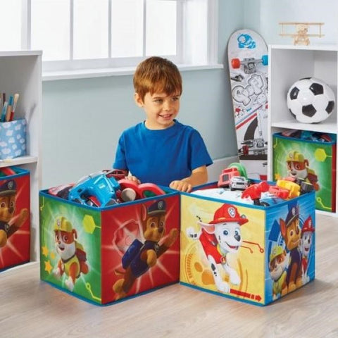 Set 4 Contenitori in Stoffa Paw Patrol | WORLDS APART | RocketBaby.it