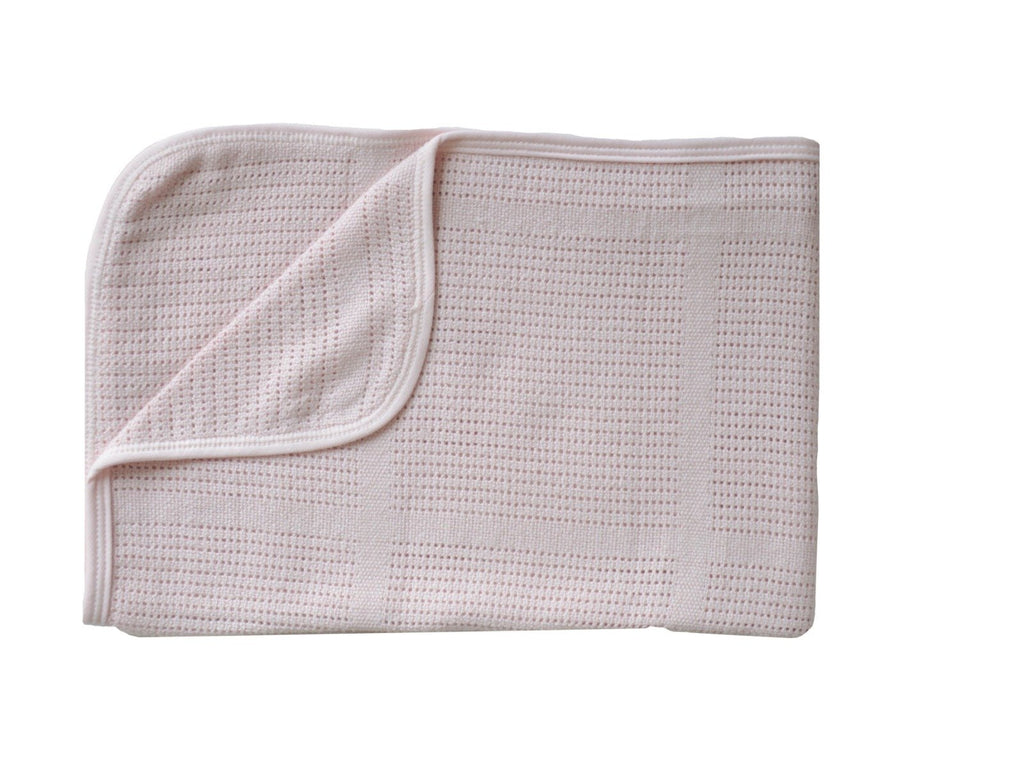 Coperta Leggera in Bamboo La Ninna Baby New Vintage Pink | BAMBOOM | RocketBaby.it