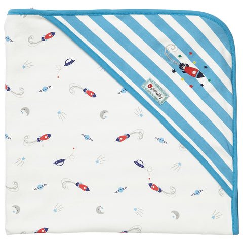 Coperta con Cappuccio Classic Space | PICCALILLY | RocketBaby.it