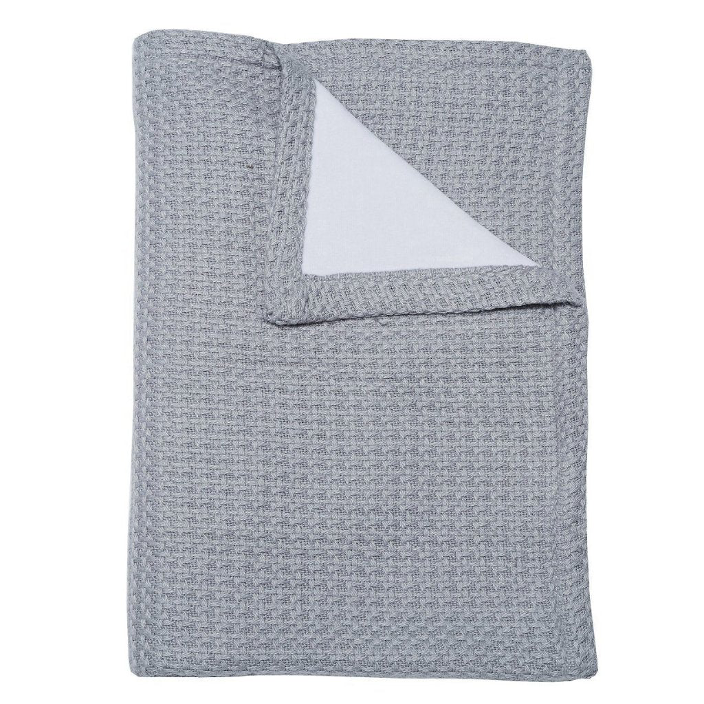 Coperta in Bamboo La Ninna Baby Soft Stone Grey | BAMBOOM | RocketBaby.it