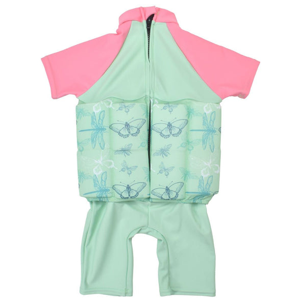 Costume Intero AntiUV con Maniche e Inserti Galleggianti Dragonfly | SPLASH ABOUT | RocketBaby.it