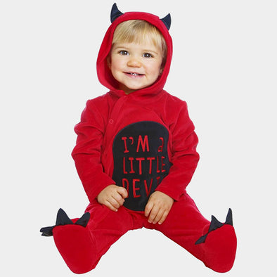 Costume Travestimento Baby Diavoletto Cotton | MOM FUN COMPANY | RocketBaby.it