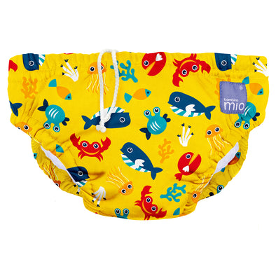 Costumino Pannolino Deep Sea Yellow | BAMBINO MIO | RocketBaby.it