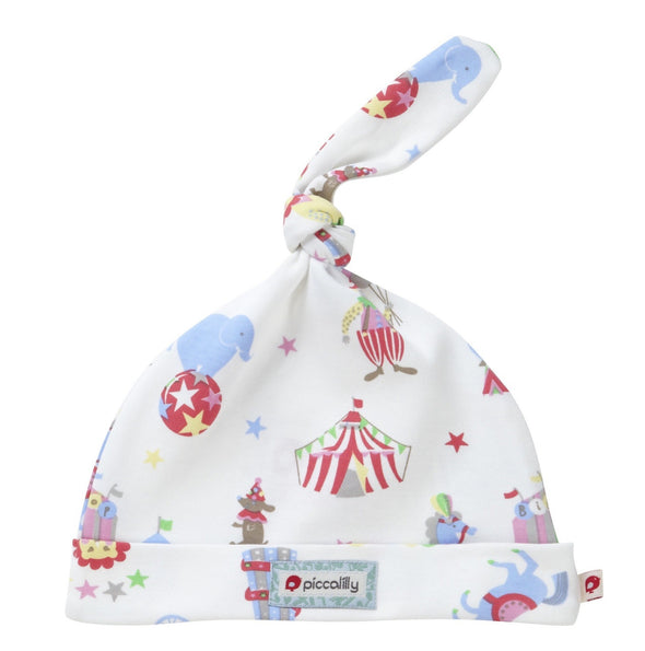 Cuffia con Nodo Retro Circus Print | PICCALILLY | RocketBaby.it