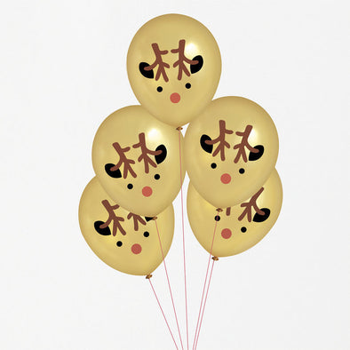 5 Palloncini Mini Reindeer | MY LITTLE DAY | RocketBaby.it