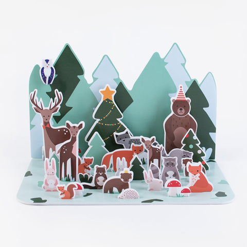 Calendario Avvento Forest Animals | MY LITTLE DAY | RocketBaby.it
