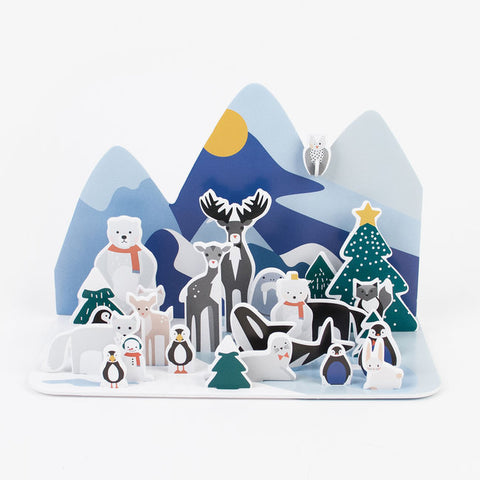 Calendario Avvento Polar Animals | MY LITTLE DAY | RocketBaby.it