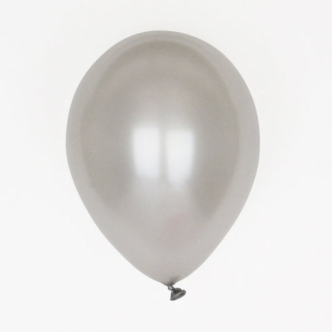 10 Palloncini Metallic Silver | MY LITTLE DAY | RocketBaby.it