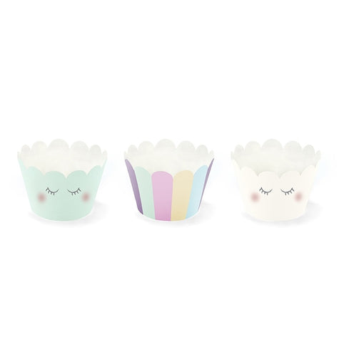 Set 6 PortaCupcake Unicorn | PARTY DECO | RocketBaby.it