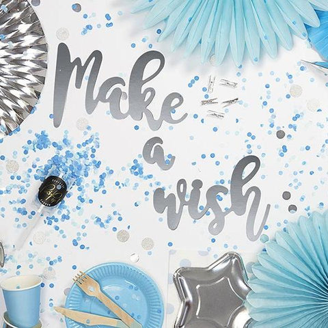 Ghirlanda Decorativa Unicorn Make a Wish | PARTY DECO | RocketBaby.it