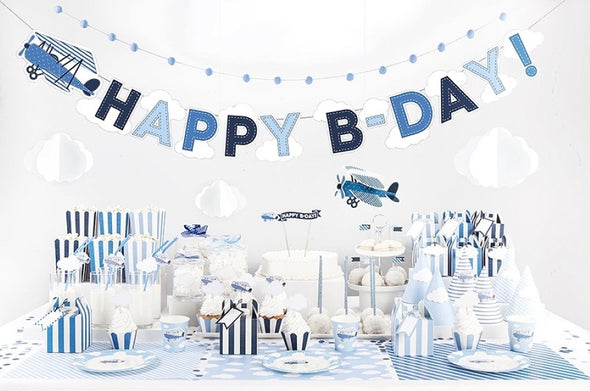 Set 6 Scatole Bomboniera Little Plane | PARTY DECO | RocketBaby.it