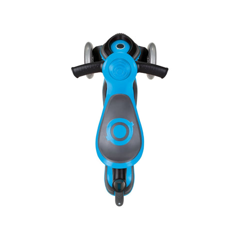 Monopattino New Evo Comfort 5 in 1 Azzurro 1-9 Anni | GLOBBER | RocketBaby.it
