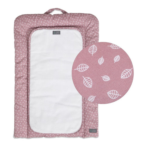 Fasciatoio con Protezione Nordic Leaf Soft Pink | VINTER AND BLOOM | RocketBaby.it