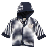 Felpa con Cappuccio Whale Navy Blue | PLAYSHOES | RocketBaby.it