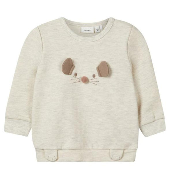 Felpa a Maniche Lunghe Mouse Peyote | NAME IT | RocketBaby.it