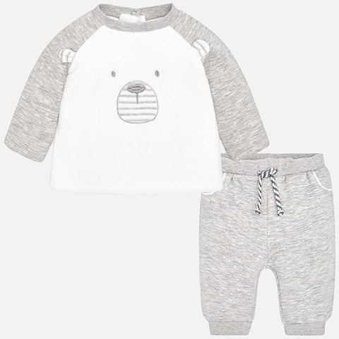 Tuta Baby Orso Orso Grigio | MAYORAL | RocketBaby.it
