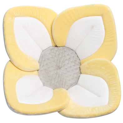 Morbido Fiore Lotus per il Bagnetto Pastel Yellow White Gray | BLOOMING BATH | RocketBaby.it