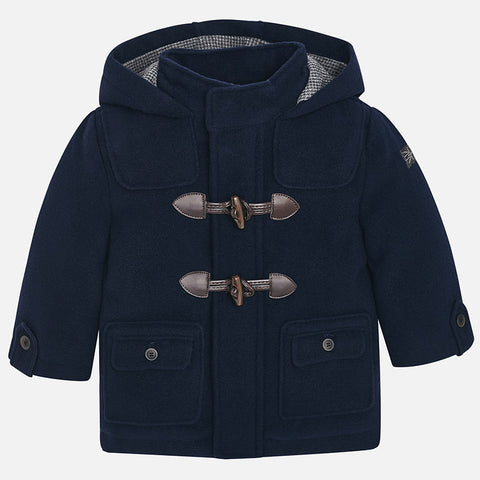 Cappotto Trench con Alamari Blu Navy | MAYORAL | RocketBaby.it