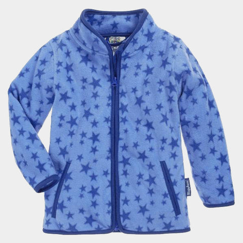 Giacca in Pile Stars Blue | PLAYSHOES | RocketBaby.it