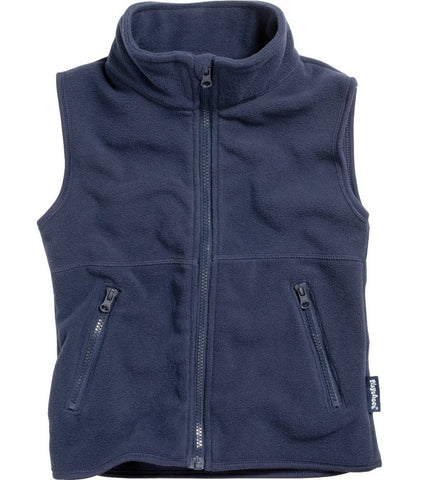 Gilet in Pile Navy | PLAYSHOES | RocketBaby.it