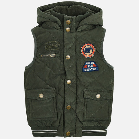 Gilet Trapuntato Edera | MAYORAL | RocketBaby.it