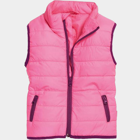 Gilet Imbottito Uni Pink | PLAYSHOES | RocketBaby.it