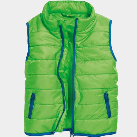 Gilet Imbottito Uni Green | PLAYSHOES | RocketBaby.it